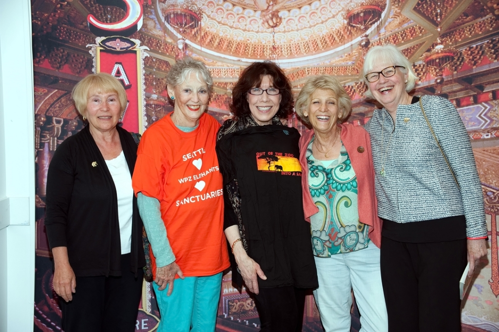 Lily Tomlin with FOWPZE